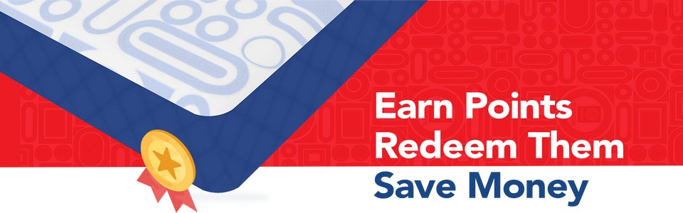 Earn Reward Points With Every Purchase