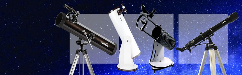 Telescopes For Land & Sky Available